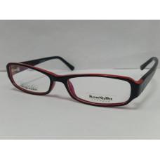 оправа KANSHDU 6627 Черный с Красный  51-7-135