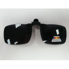 Поляризационные насадки на очки (Черный -узкие) 1