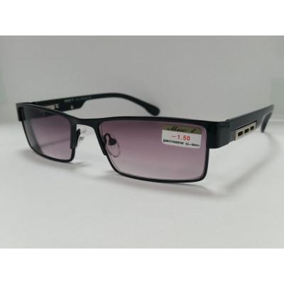 Готовые очки Moct 019  серая линза  52-18-139