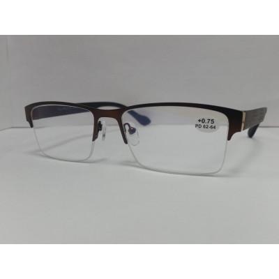 готовые очки Fabia Monti антиблик 889 54-17-140
