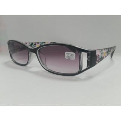 Готовые очки MOCT 2065 тонированные черные 52-18-131