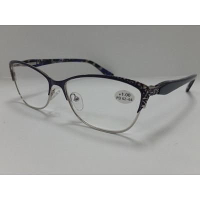 готовые очки Fabia Monti 860  антиблик 55-15-135