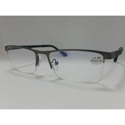 Готовые очки FABIA MONTI 874 антиблик 54-17-138