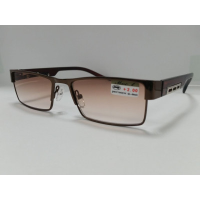 Готовые очки Moct 019  коричн.линза  52-18-139
