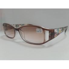 Готовые очки MOCT 2065 тонированные коричневые 52-18-131
