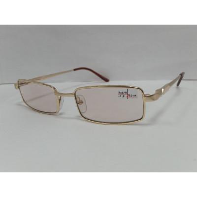 Очки готовые Ralph 013 хамелеон стекло ( Коричневый ) 50-18-138